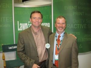 Richard Heller and Jeff at 2008 GIC
