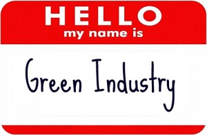 Hello My Name is Green Industry