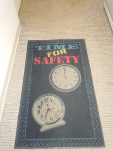 """Time for Safety"""