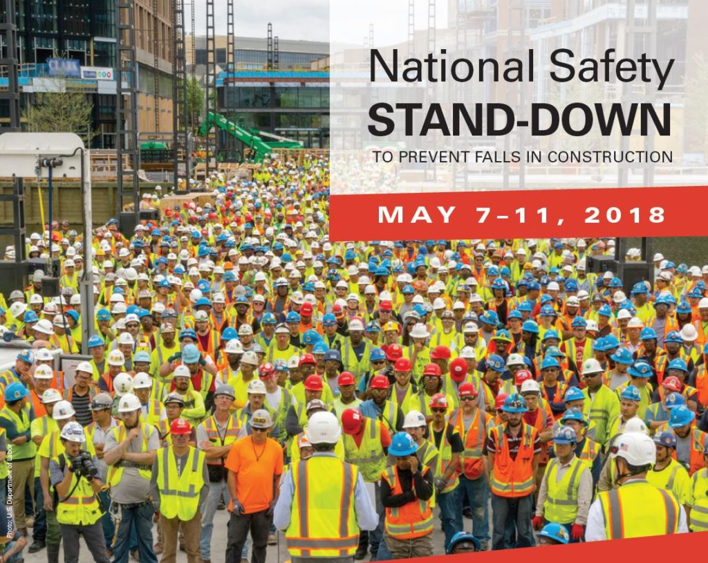 National Safety Stand Down Help Prevent Falls In The