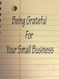 Time to be thankful for your small landscape business.