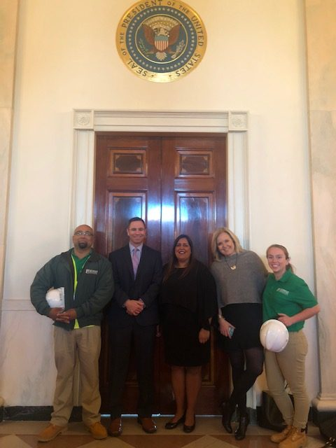 Representing landscape industry careers at the White House