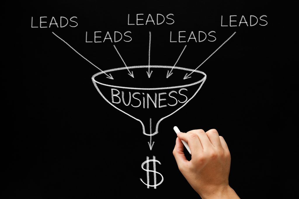 feed the sales funnel