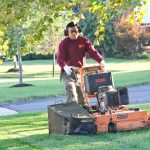 working-mowing-lawn